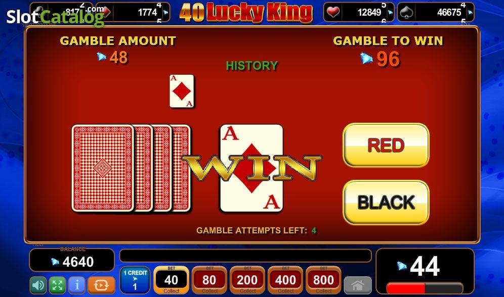 Spiele 40 Lucky King - Video Slots Online