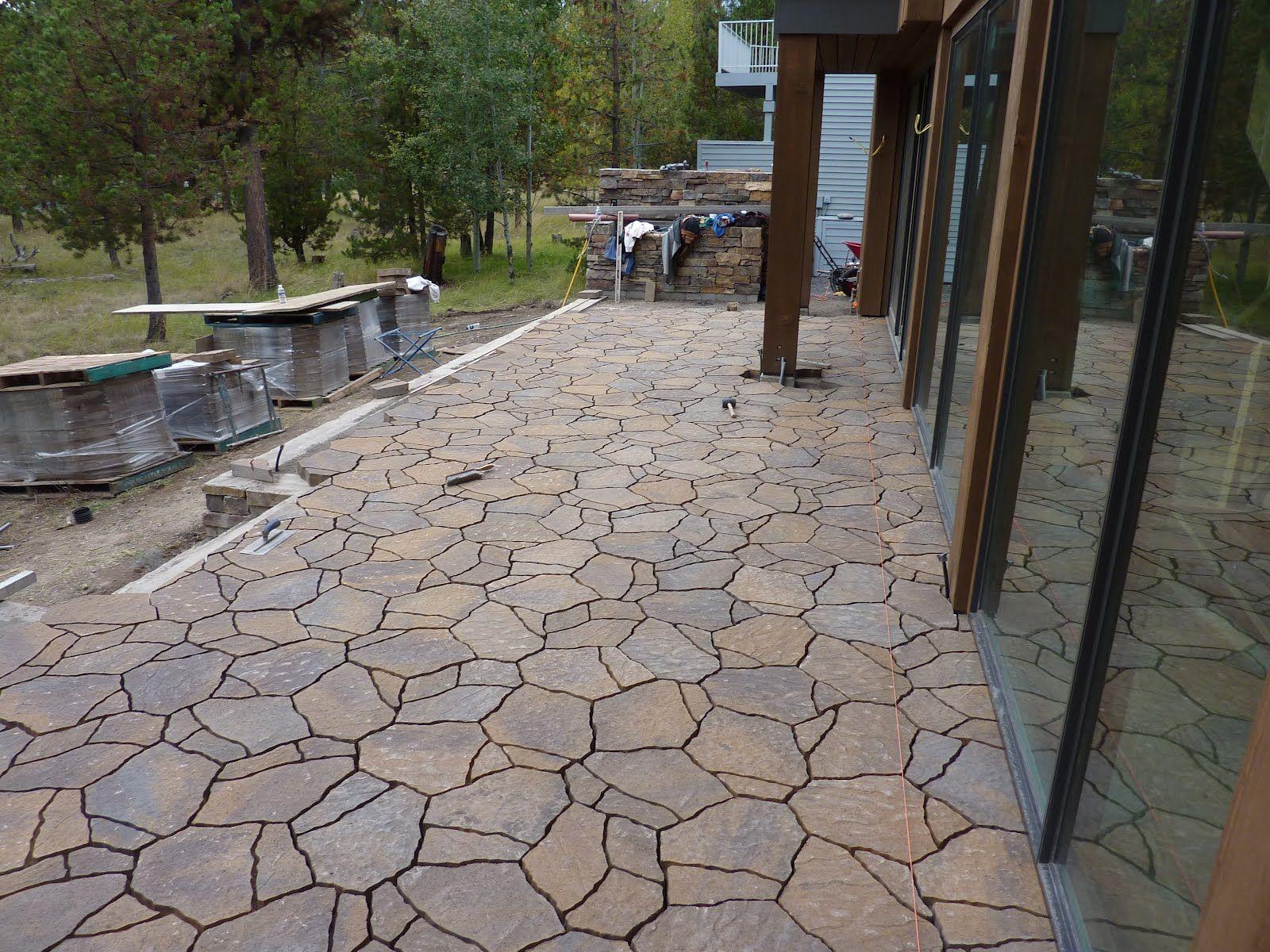 Stone Patio Pavers Patio Design Ideas