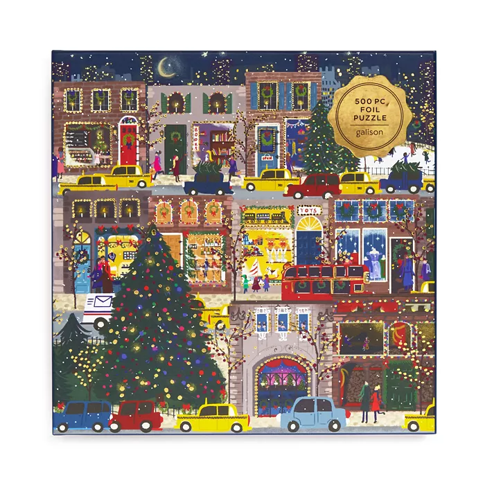 Galison Winter Lights 500 Piece Puzzle in 2020 500