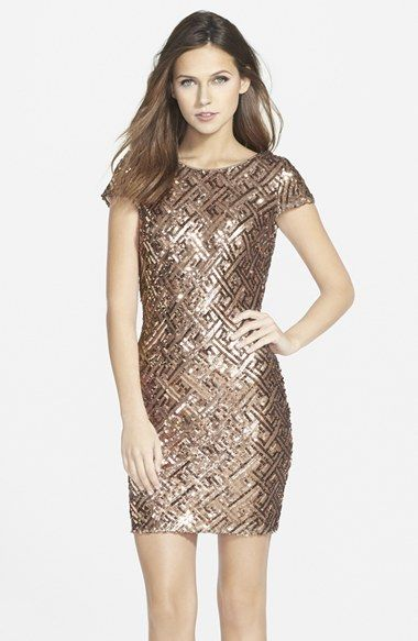 Free Shipping And Returns On Dress The Potion Tabitha Sequin Minidress At Nordstrom