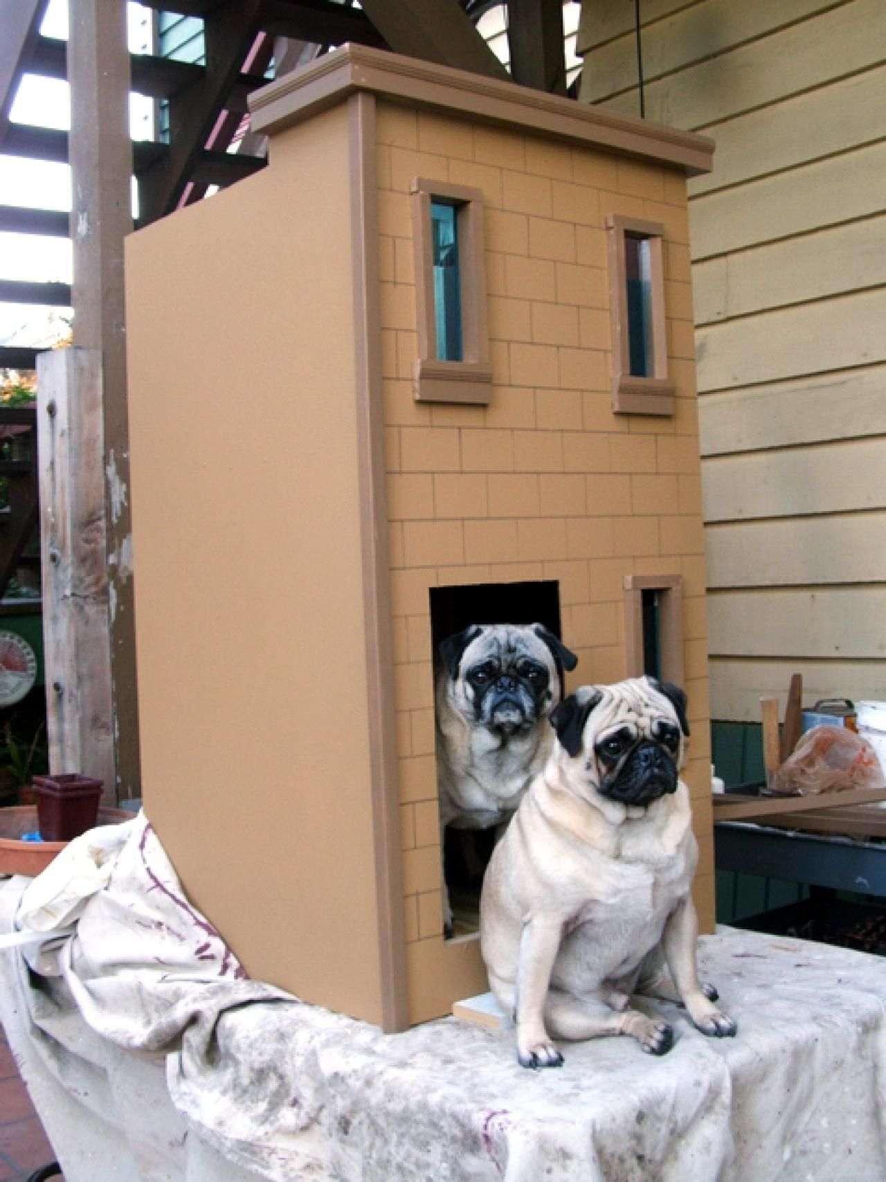 Brownstone doghouse dog houses pet spaces dog boutique