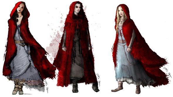 Red Riding Hood And Other Costumes Red Riding Hood Art Red