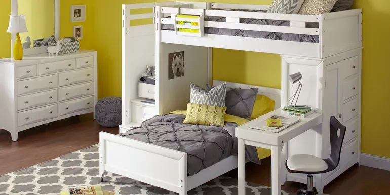 Affordable Bunk Loft Beds For Kids Rooms To Go Kids Rooms To Go Furniture Bunk Bed Sets Twin Bunk Beds
