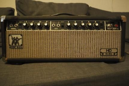 Music Man HD 130 one thirty Topteil Head Ebay