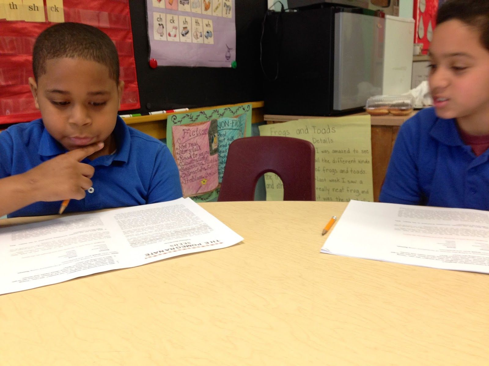 Between the By-Road and the Main Road: Noticing: 4th Graders & Literary Language & Techni...