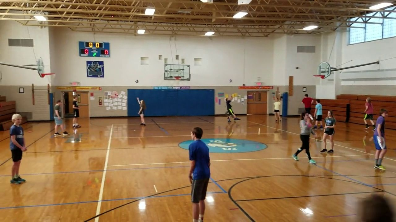 Volleyball 4 Square Volleyball Rules Pe Games Volleyball