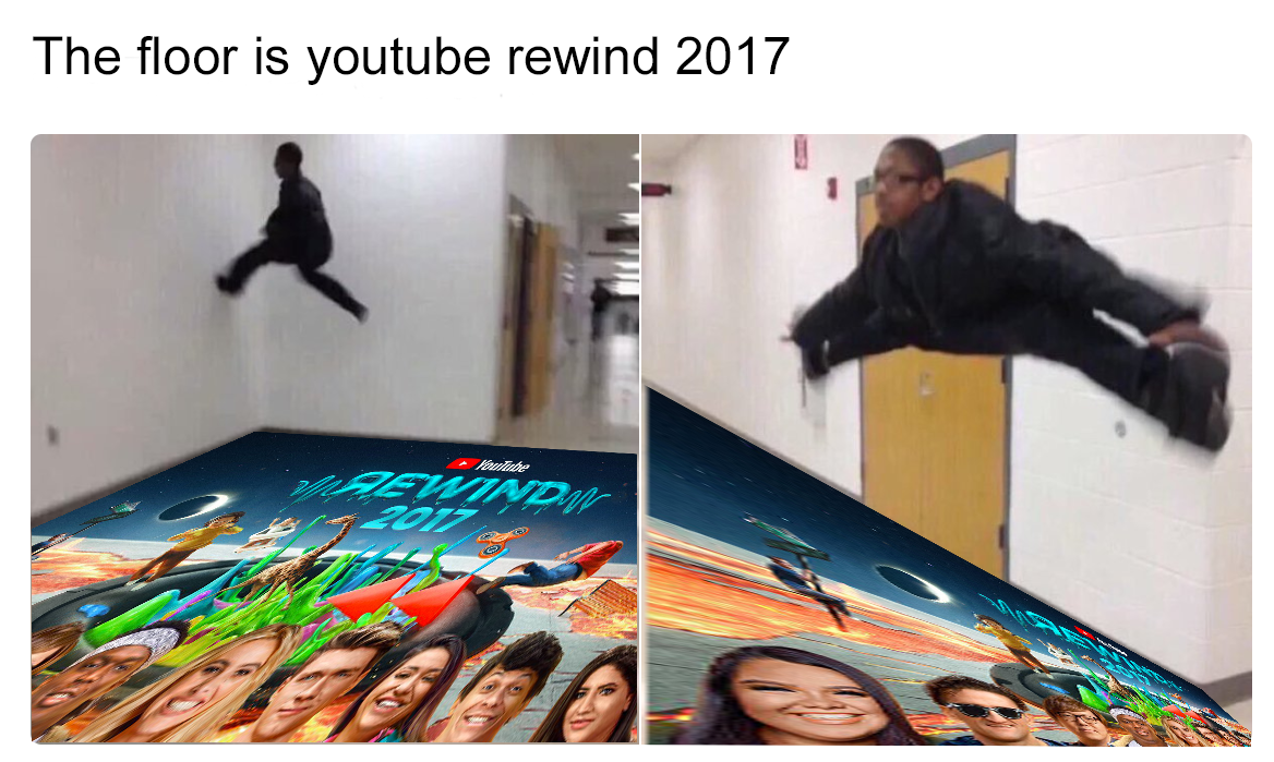 The floor is youtube rewind 2017 Tap the link to check out fidgets and sensory toys! Happy Hands Toys!