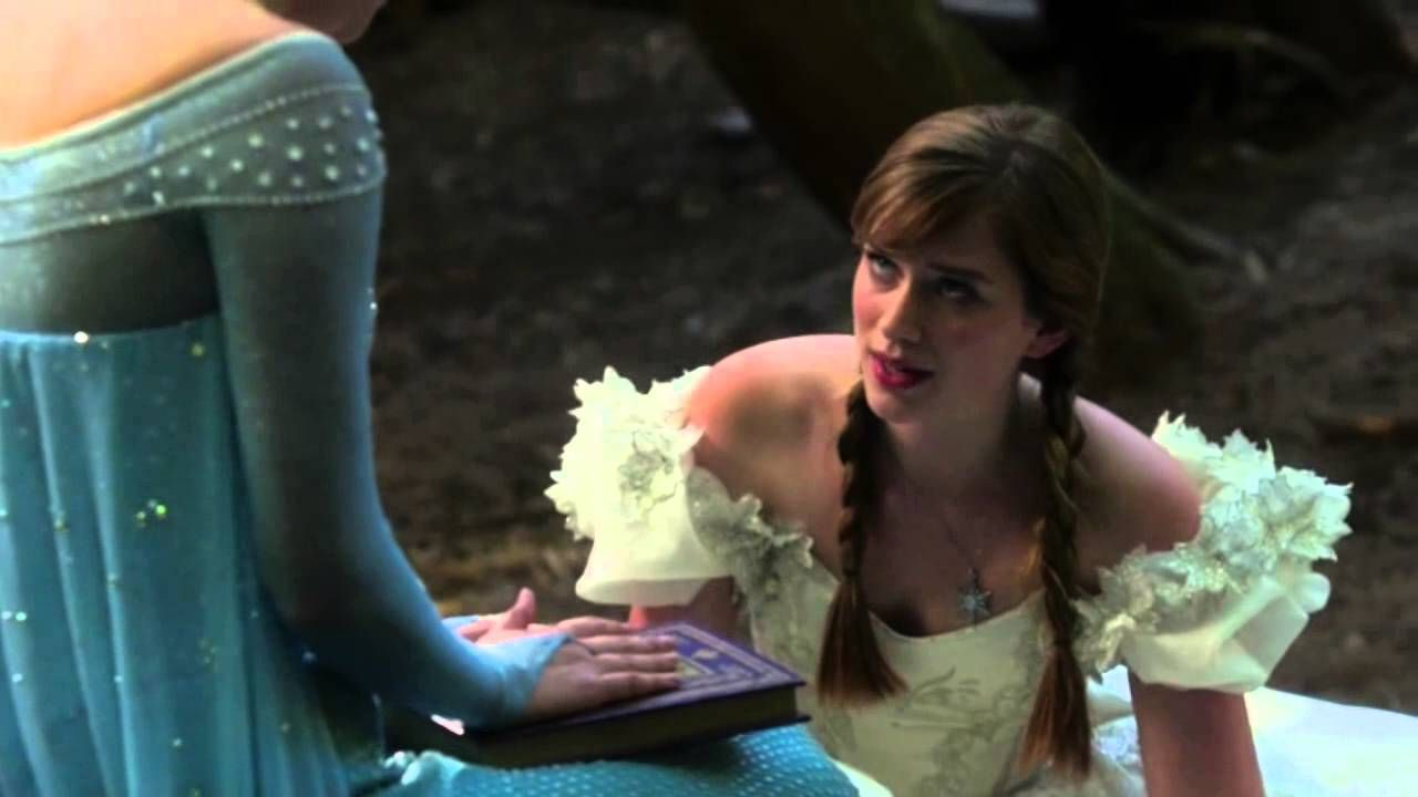 OUAT - 4x01 'You are NOT a monster' [Elsa & Anna]....Uhhh...Uhh...I just watched this...And-and...I have never seen OUAT ever...soooo now I'm hooked Ale