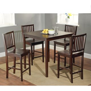 Simple Living Shaker Counter Height 5 Piece Dining Set By Simple Living