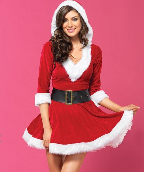 3f292c01b74f Leg Avenue 85356 2 PC Cutie Ms. Claus Christmas Costume $39.95   Let ...