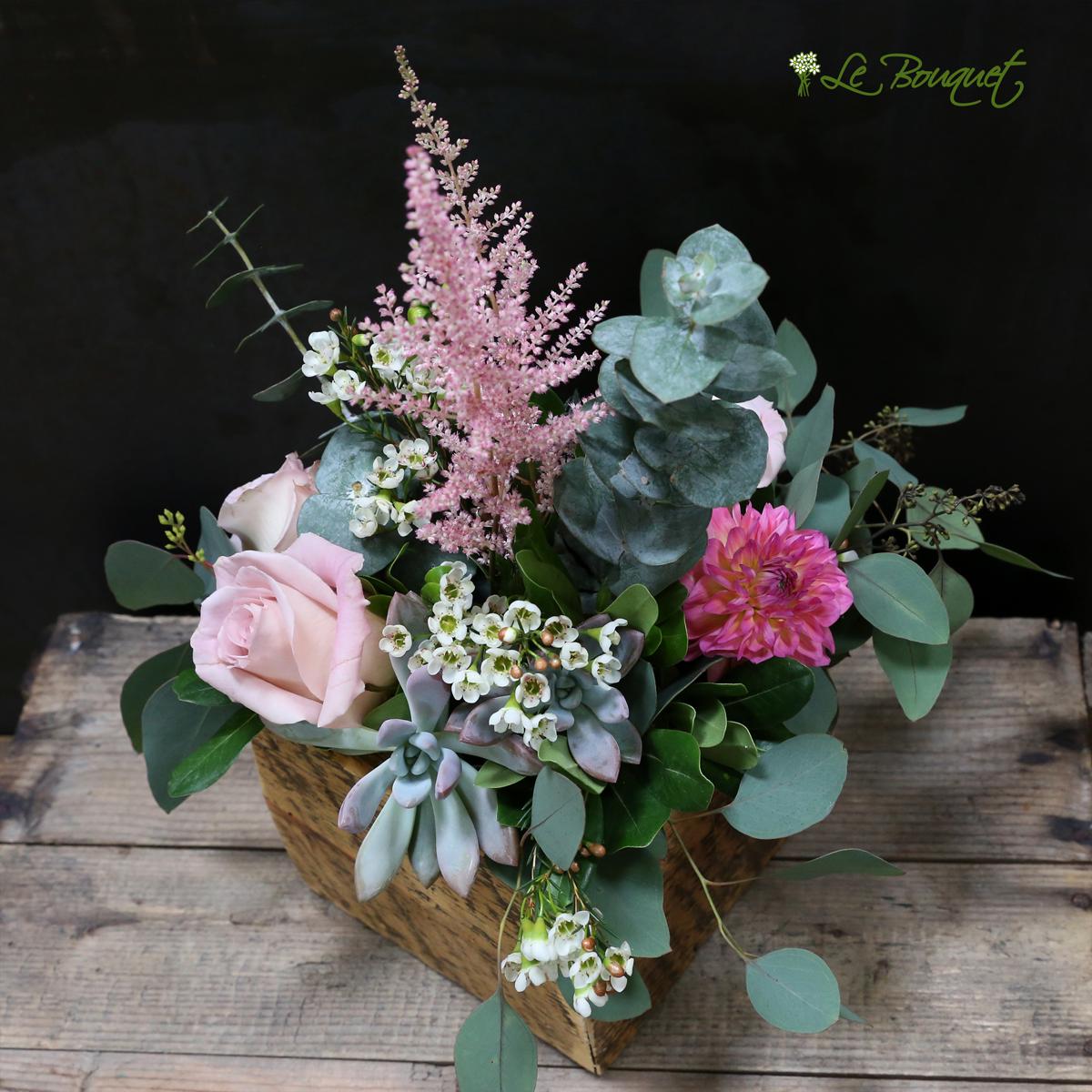 Roses by Claire - Un brin pétillant - 1 | Bouquet mariée