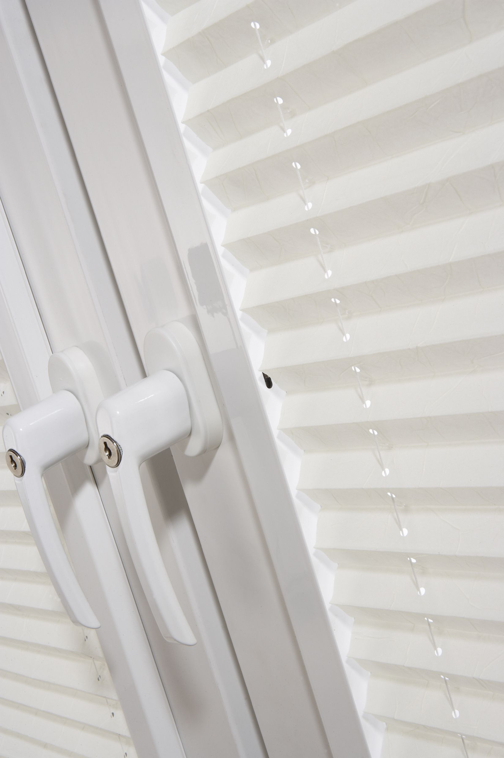 Perfect Fit Pleated window blinds Ideal for UPVC windows and for