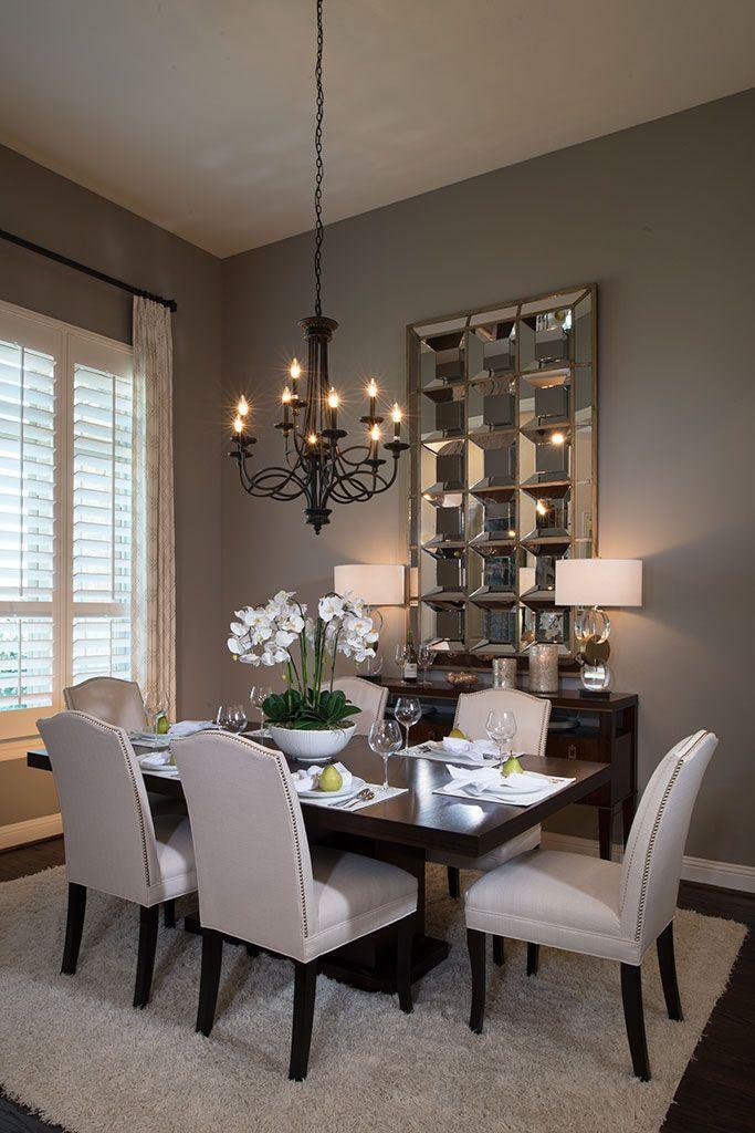 Dining Room Ideas Part - 31: Highland Homes | Light Farms | Dining Room | Celina, TX | Plan 292