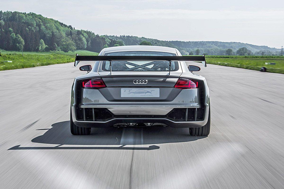 Audi tt clubsport turbo mitfahrt und sitzprobe