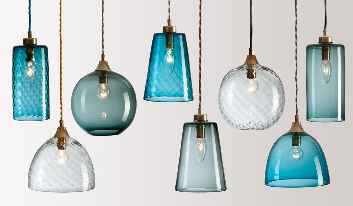 Pendant Light Fixtures Glass : Flodeau handblown glass lighting by rothschild