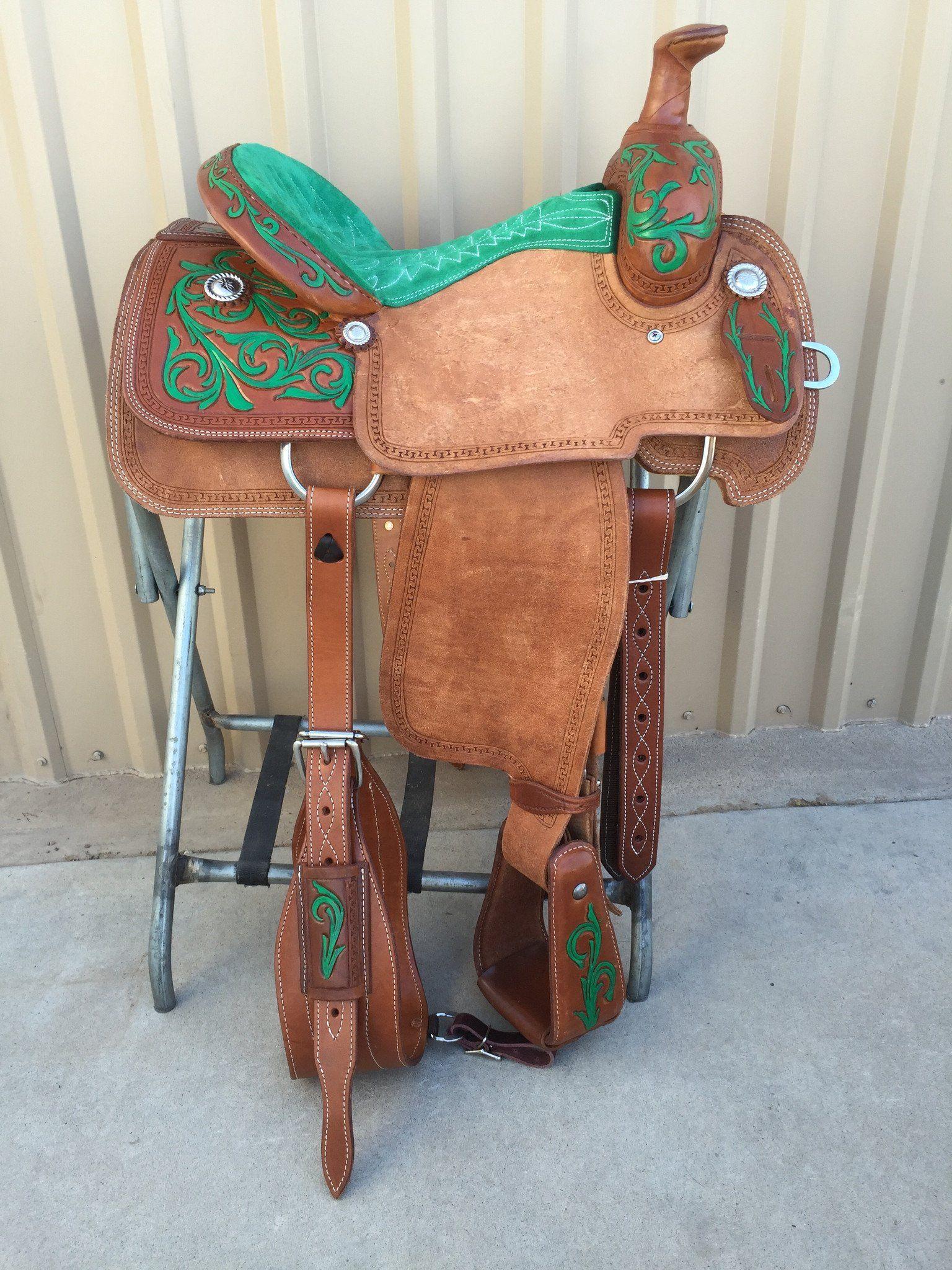 Csr 113c Corriente Team Roping Saddle Horse Tack