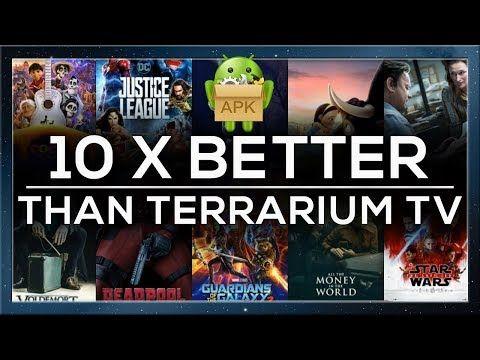 THIS APK IS 10X BETTER THAN TERRARIUM TV UNCOMPRESSED 1080P