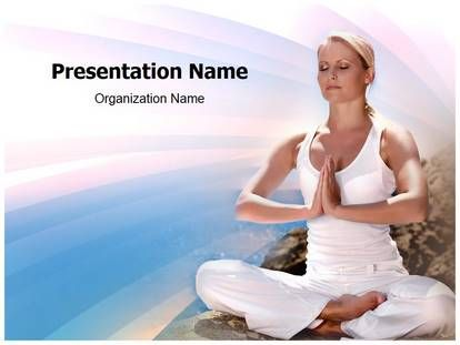 yoga #ppt #template for #powerpoint #presentation. this template, Presentation templates