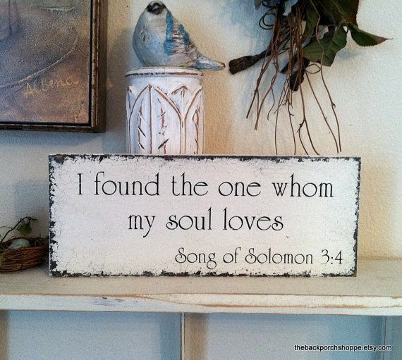 SONG Of SOLOMON Self Standing / Hand By Thebackporchshoppe