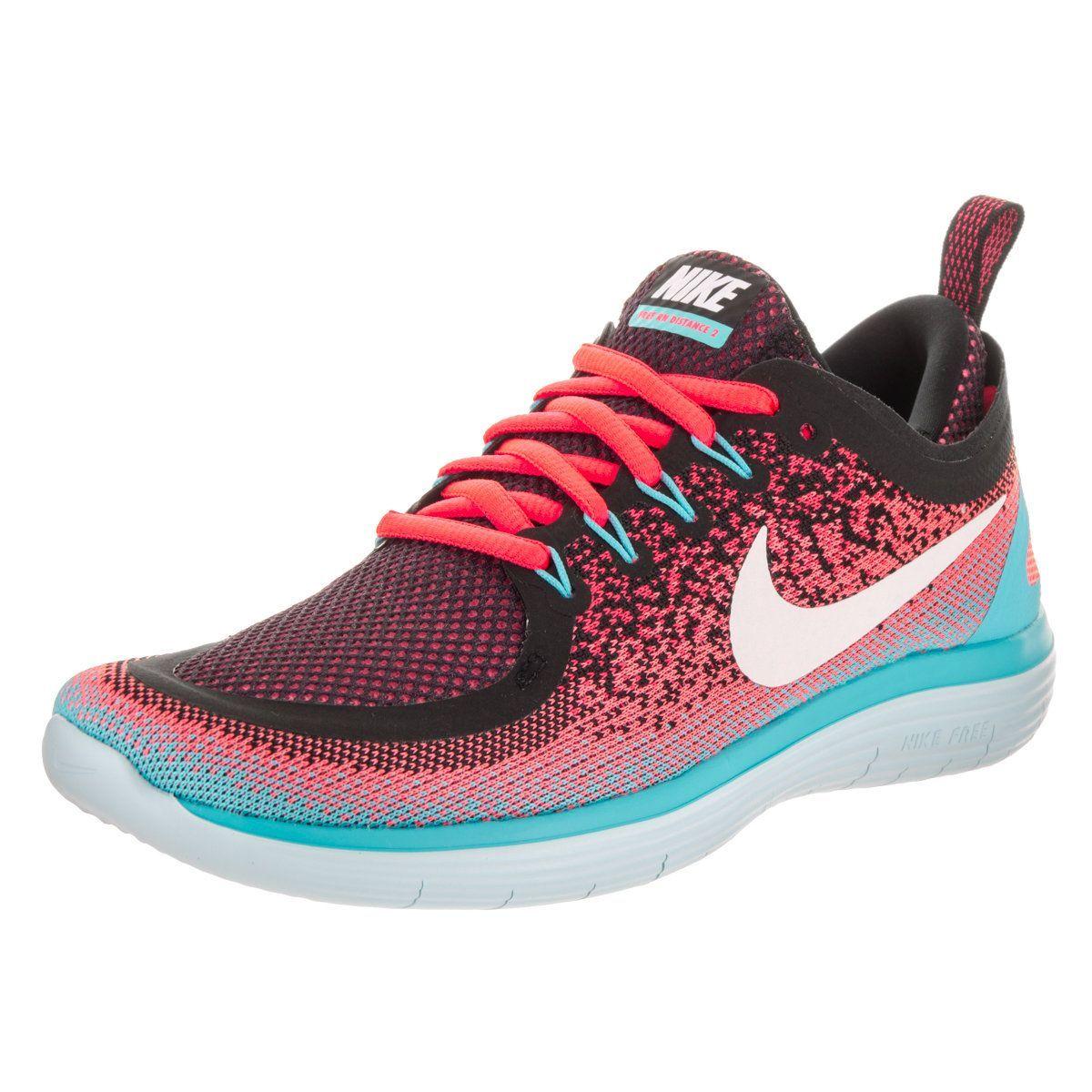 953b2f3c8e77 Nike Women s Free RN Distance 2 Running Shoes in 2019