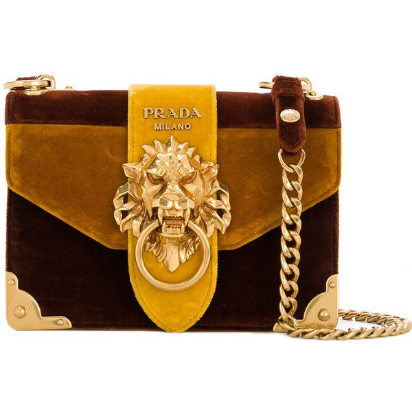 32677463534d Prada Cahier lion-embellished shoulder bag ( 1