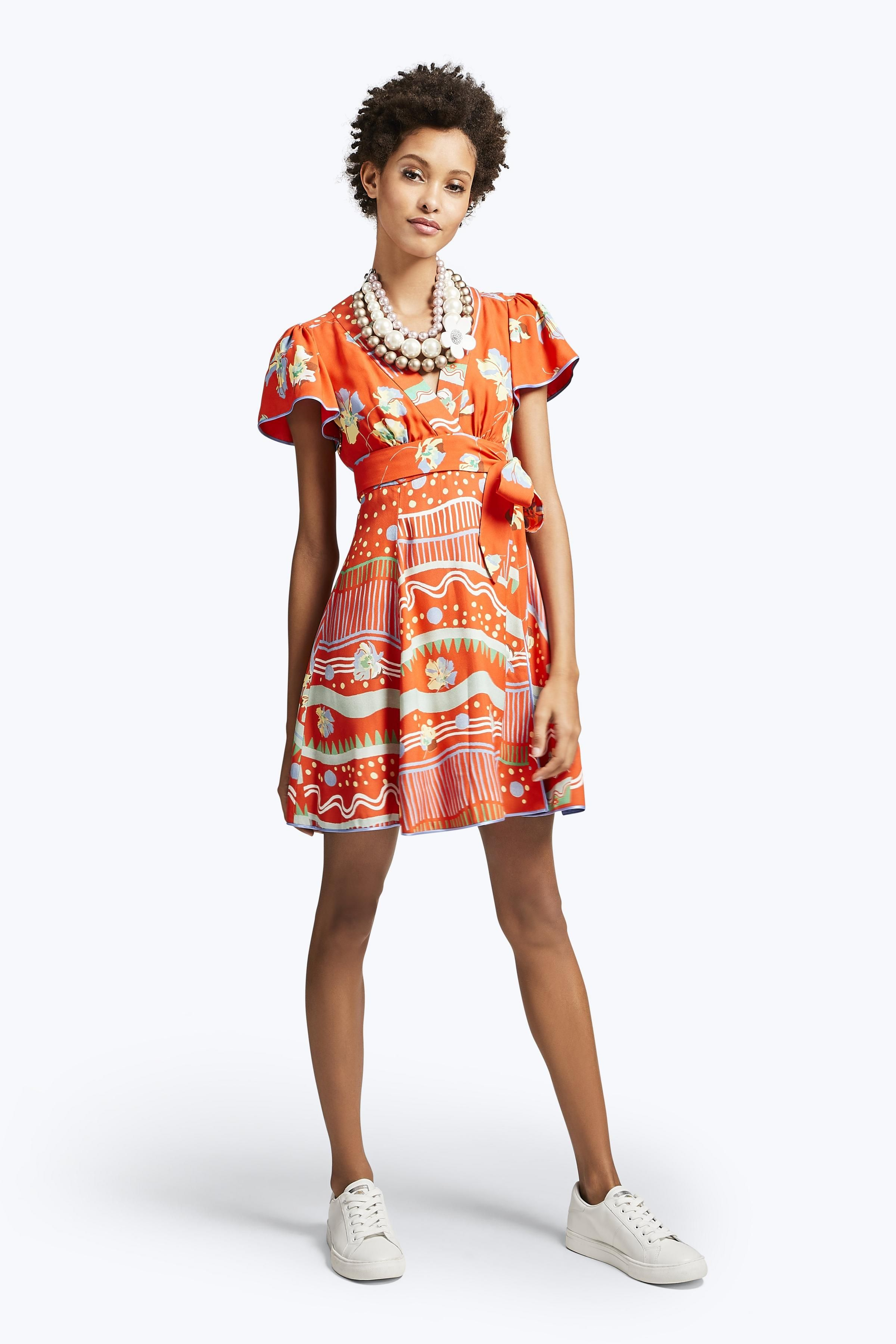 Get This Dress And Accessories At Its Fashion Metro In: A Perfect Reason To Get Wrapped Up In Fashion. This Thigh