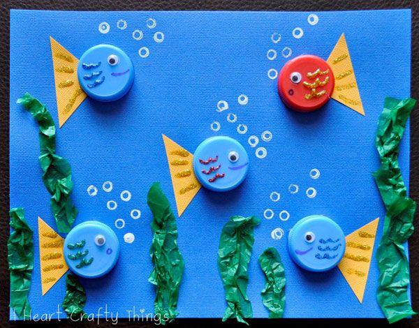 20 Idee Per Lavoretti Con Tappi Di Plastica Per Bambini Lavoretti