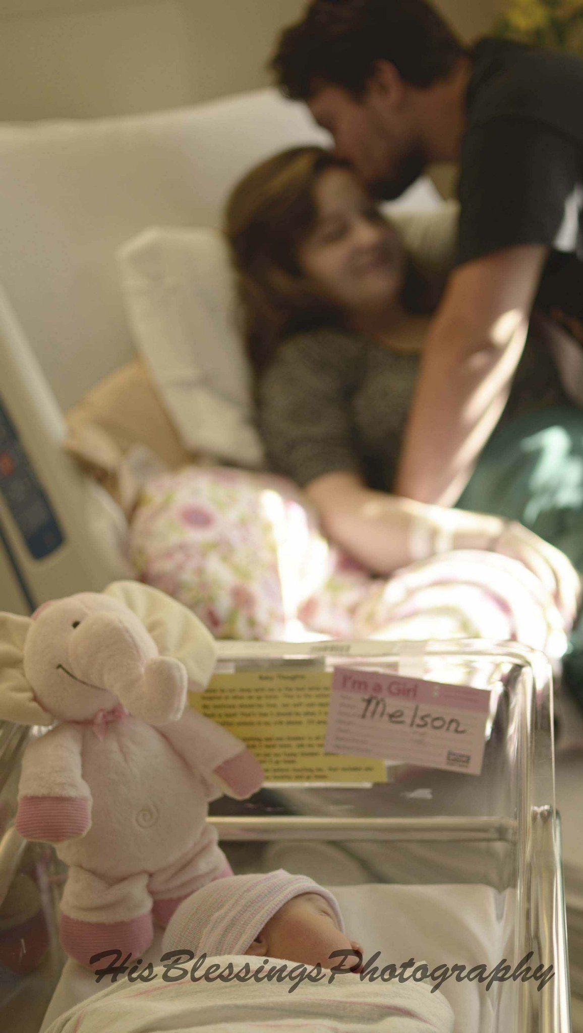 Hospital Newborn Photography, Newborn Girl Photography ...