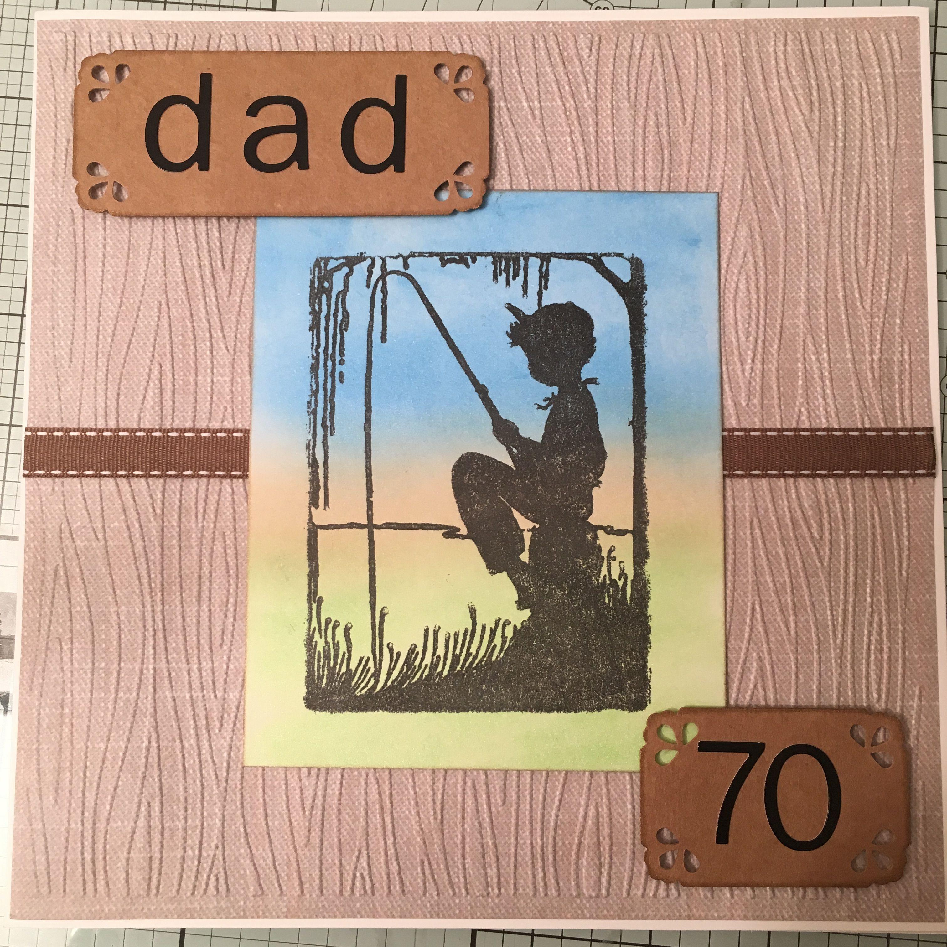 70th birthday card for my friends father 70th birthday