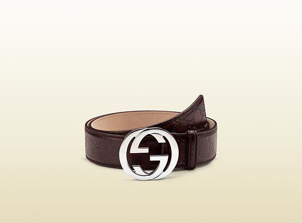 6ae9491c904 Gucci - belt with interlocking G buckle 114984AA61N2019