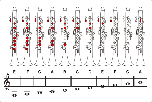 How To Play The Clarinet How To Play A Clarinet Musical Instrument Guide Yamaha Corporation Clarinet Clarinet Music Saxophone Notes