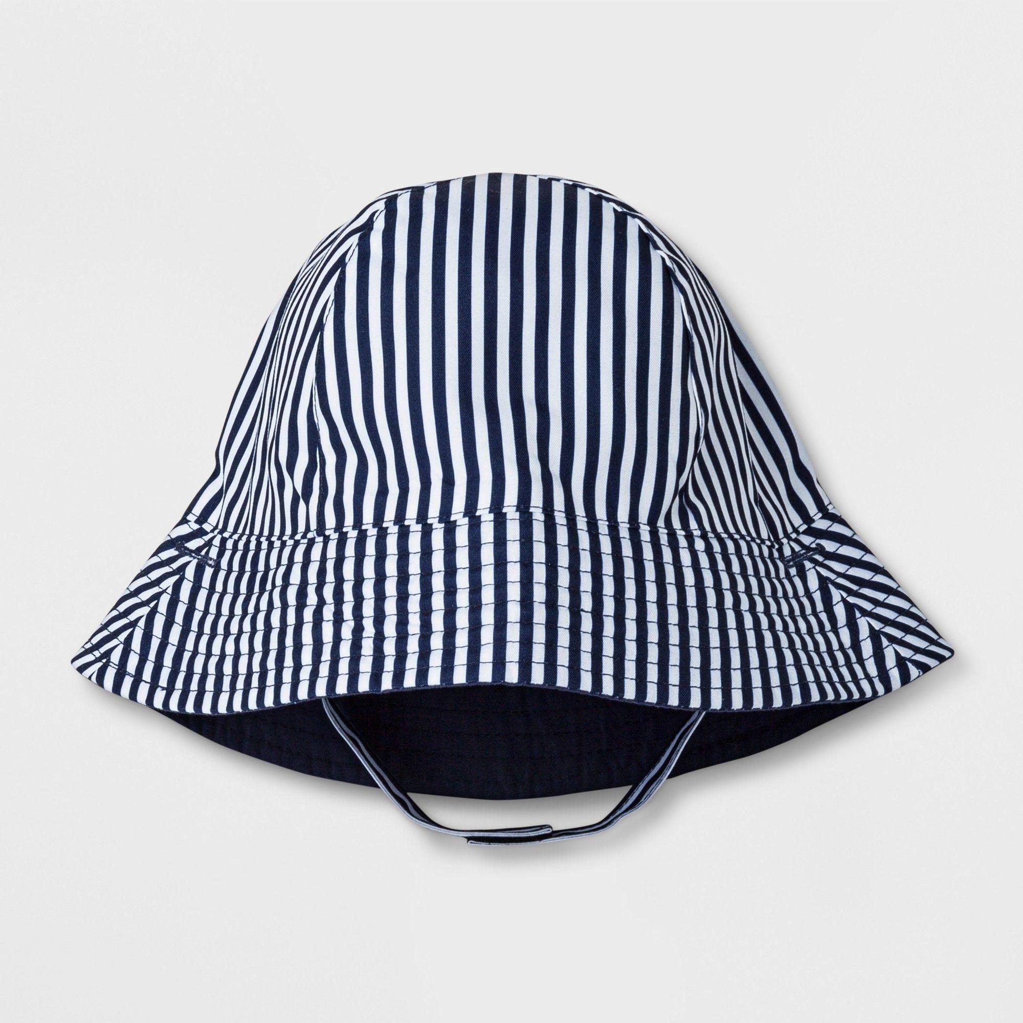 980d682ab858 ... ebay toddler boys stripe bucket hat cat jack navy blue 12 18m a2553  64b8c