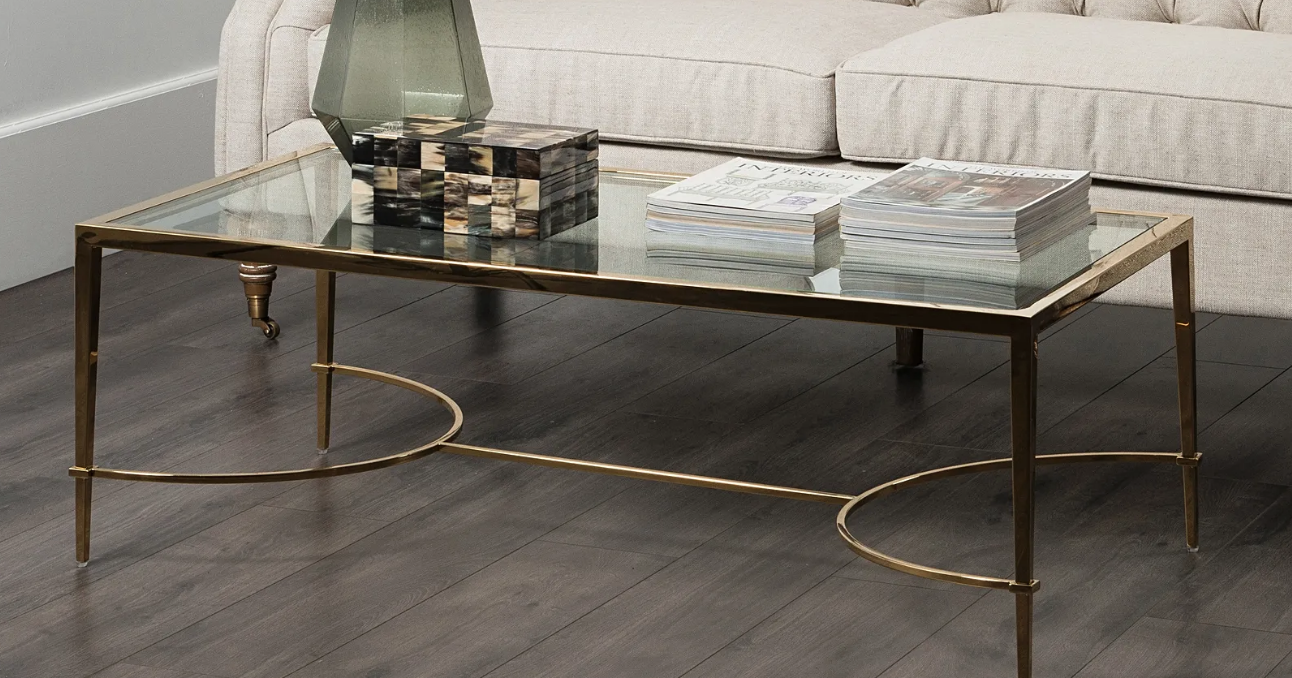 Contemporary Neoclassical Coffee Table Coffee Table Oak Table Table [ 678 x 1292 Pixel ]