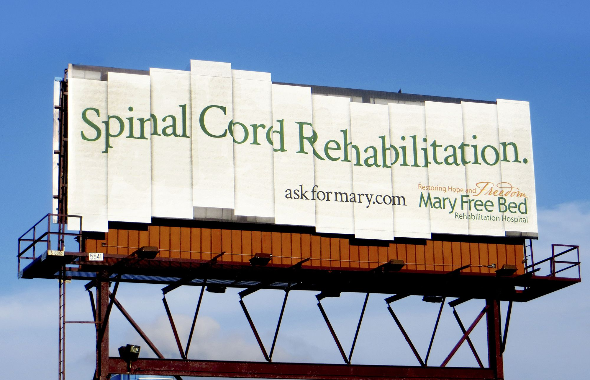 OOH Rehabilitation Creative Billboard advertising