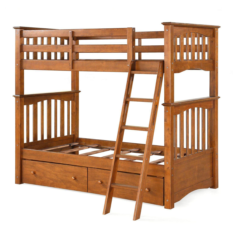 Cameron Bunk Bed With Storage Sam S Club 399 00 Hudson S Big