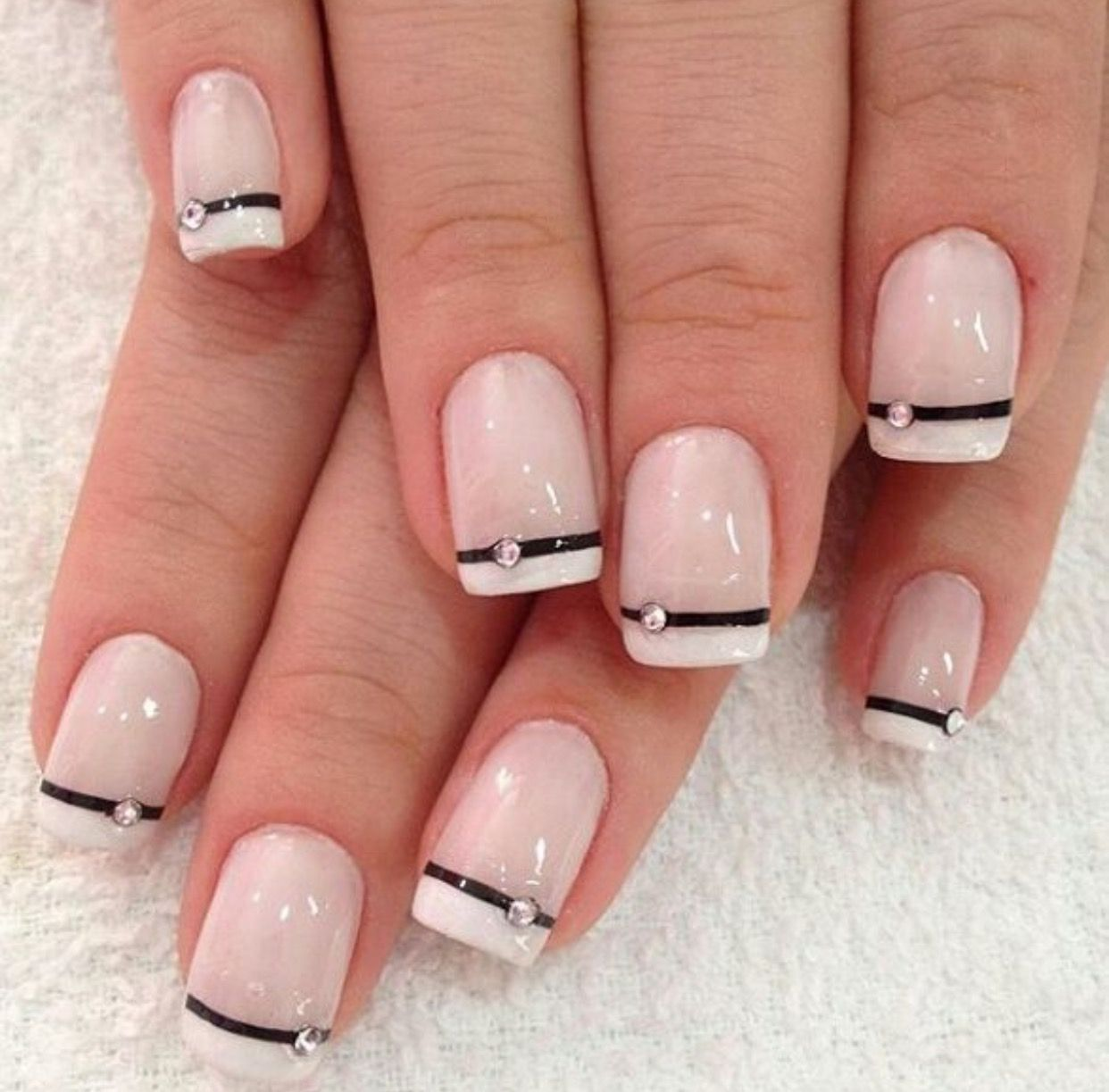 Pin by mara on uñas   Pinterest   Manicure, Style nails and Mani pedi
