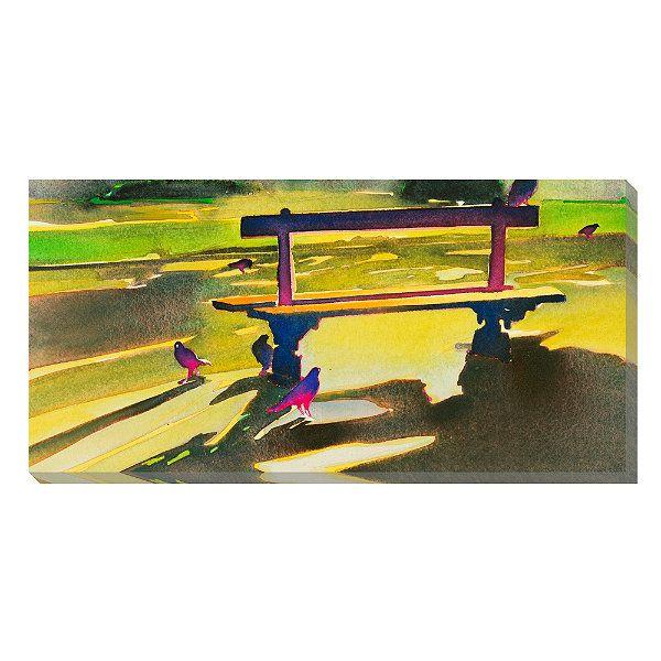 L\'heure est Couteux Aquarelle Outdoor Wall Art | paintings/art ...