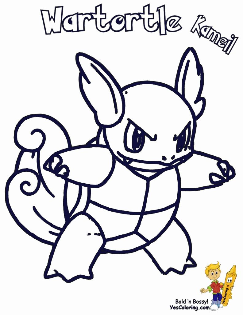 Pokemon Wartortle Coloring Pages Printable Pokemon Coloring Page Pokemon Coloring Coloring Pages