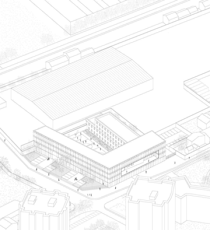 Lan Architecture Designs Minimum Security Prison In