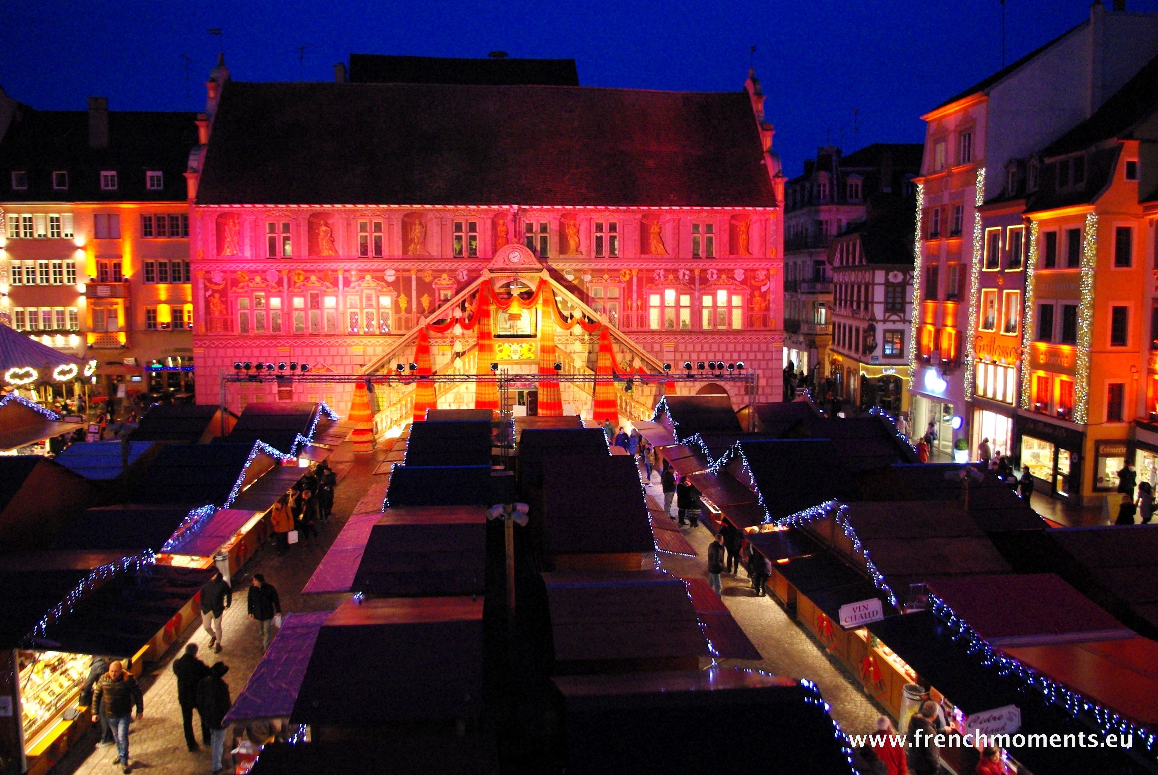 The enchanting #Christmas market of #Mulhouse, Alsace. http://www.frenchmoments.eu/les-etoffeeries-the-christmas-market-of-mulhouse-in-2014/