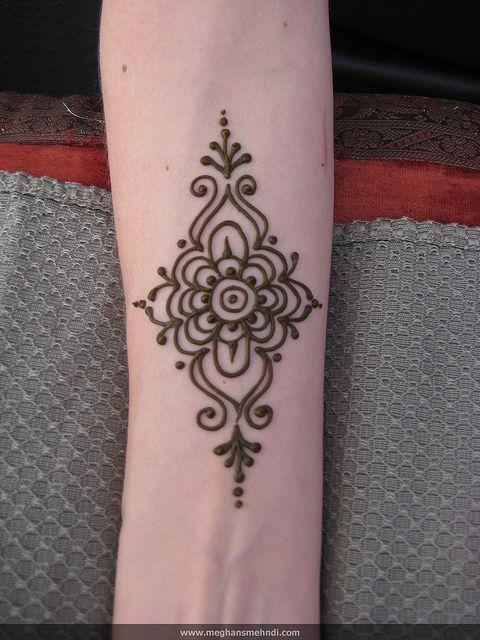 Simple Wrist Henna Designs: Simple Wrist By Meghan's Mehndi, Via Flickr