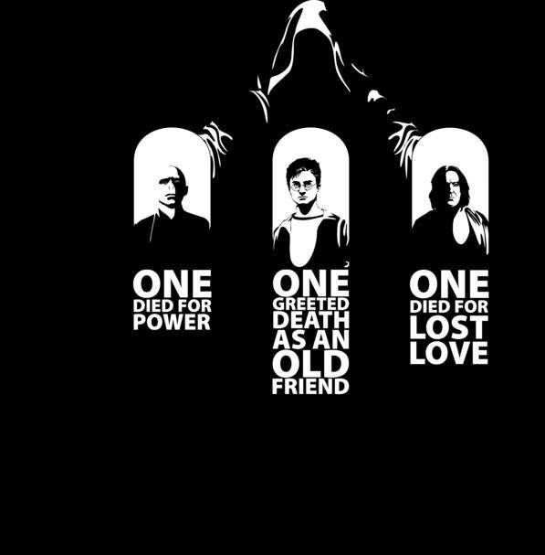 Voldemort, Harry, and Snape Are the Three Brothers and Dumbledore Is Death