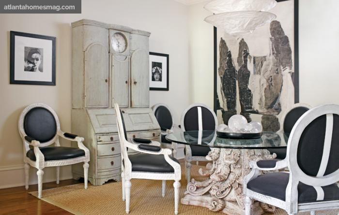 Louis XVI inspired interior design Home voyeurs a peek into