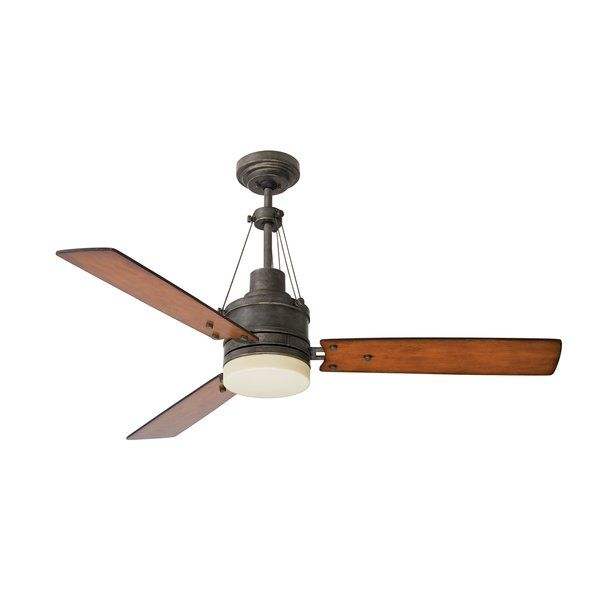54 Chacra 3 Blade Ceiling Fan By Trent Austin Design Effortlessly Cool Down Any Space With This Essenti Fan Light Ceiling Fan With Light Modern Ceiling Fan