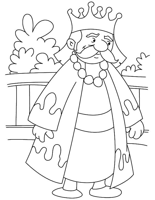 King On Throne Coloring Page Bible Character Coloring The King Coloring Pages
