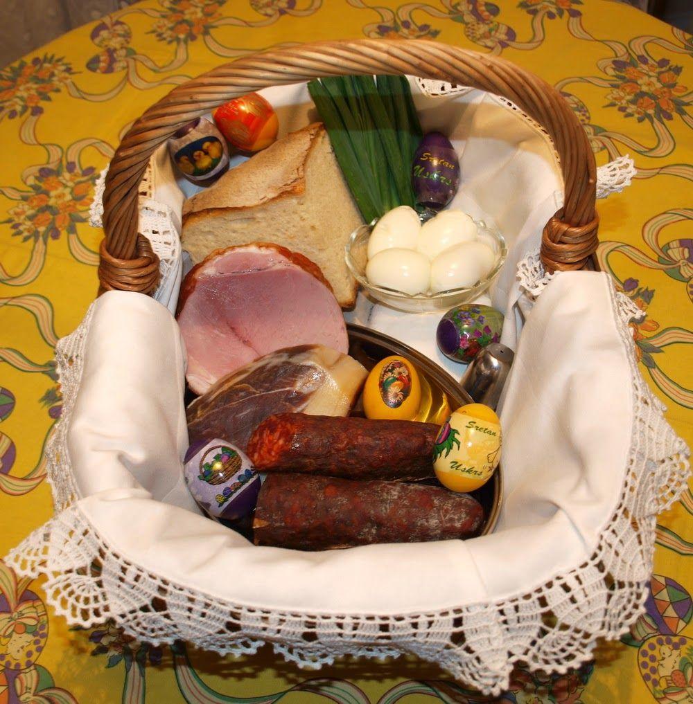 Croatian pisanica pisanica croatian easter eggs other pre uskrnja koarica or easter basket croatia negle Image collections