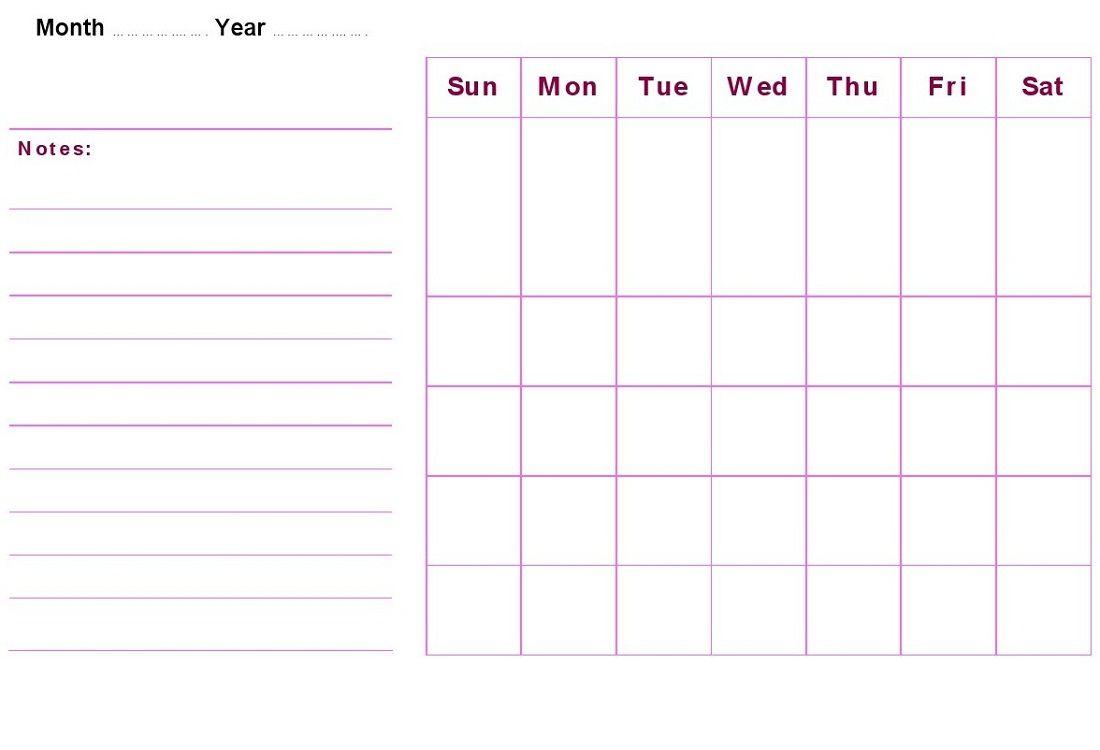 Ziemlich 2014 Leere Kalendervorlage Bilder - Entry Level Resume ...