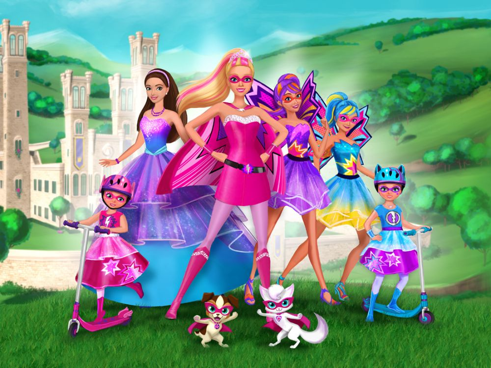 Barbie En Super Princesse Barbie Princesse Barbie Princesse