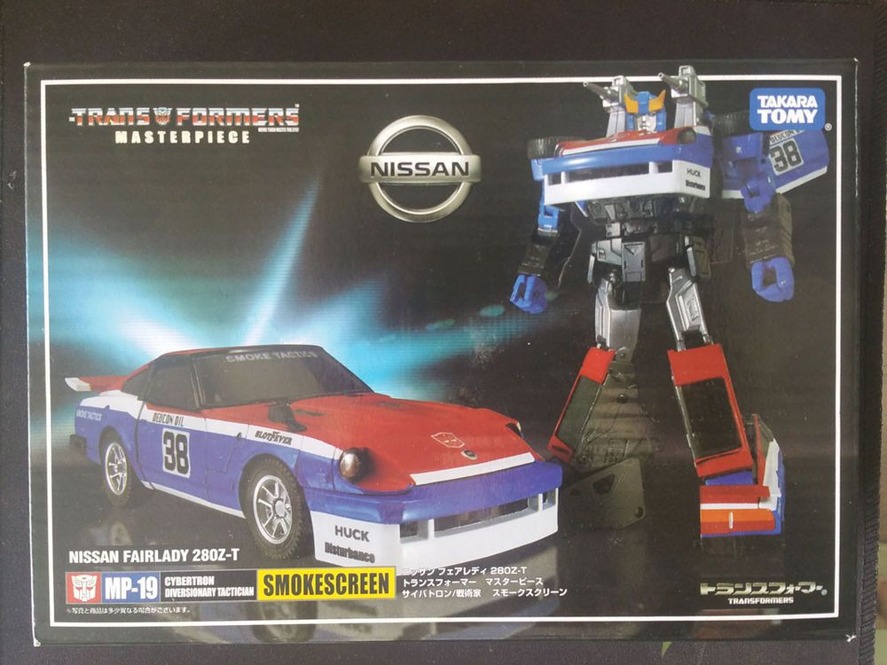 Takara Transformers MP-19 Nissan Fairlady 280Z-T Smokescreen Action Figures Toy
