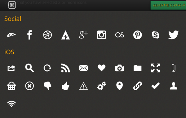 8 Best Font Icon Generators Available Today • Brand Glow